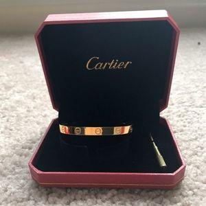 Authentic Cartier 18K Gold Bracelet